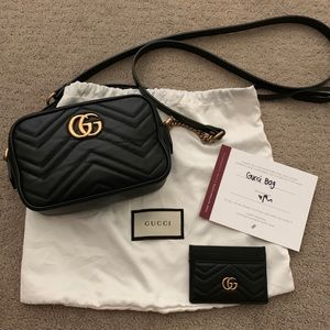 Authentic Gucci Marmont Mini bag